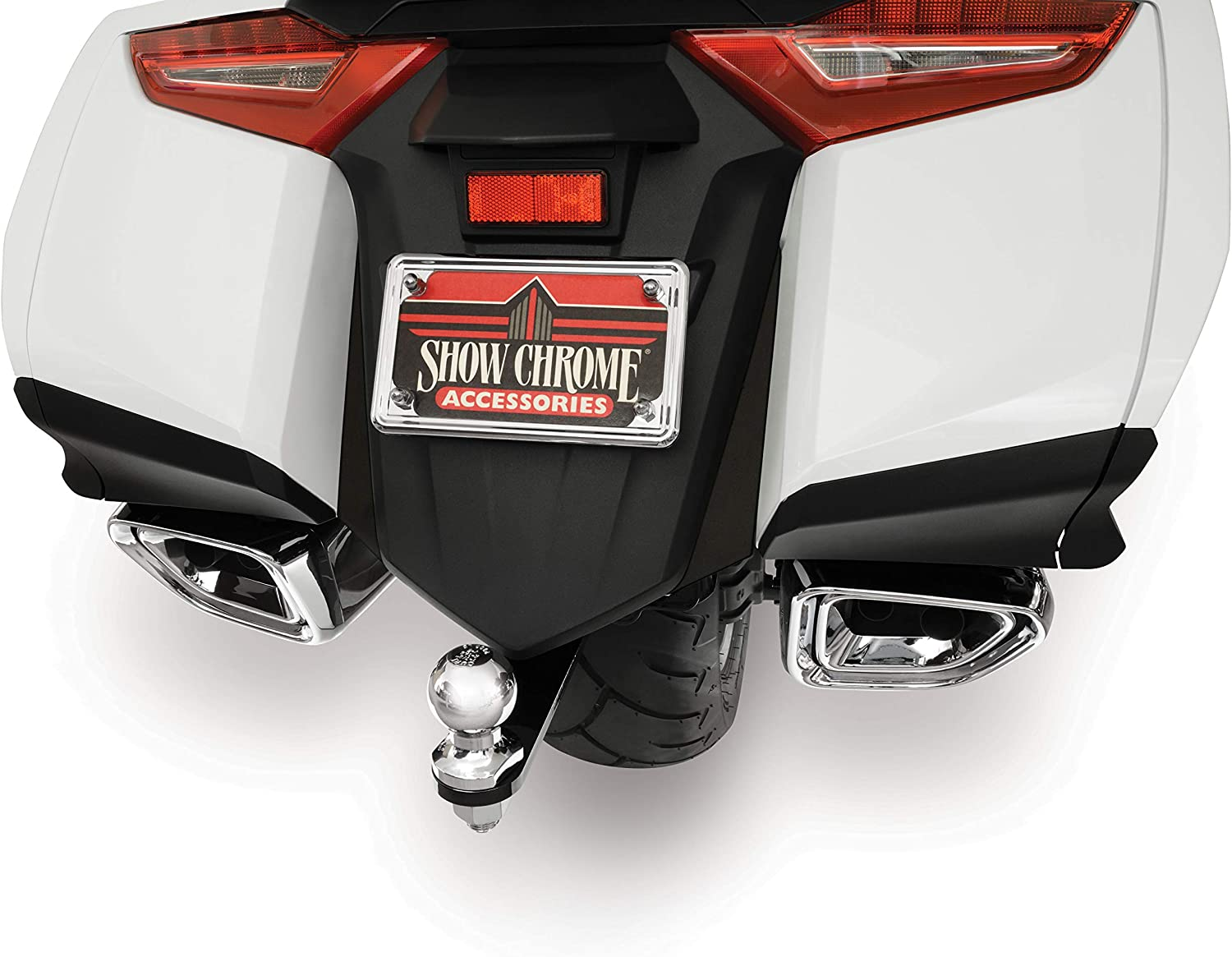 Show Chrome Save money Accessories 52-931 Max 43% OFF Rear 2018- for GL1 Filler Fender