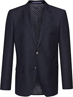 Tommy Hilfiger Men's American Icon Long Sleeve Blazer, Grey, Small (Manufacturer Size:48)
