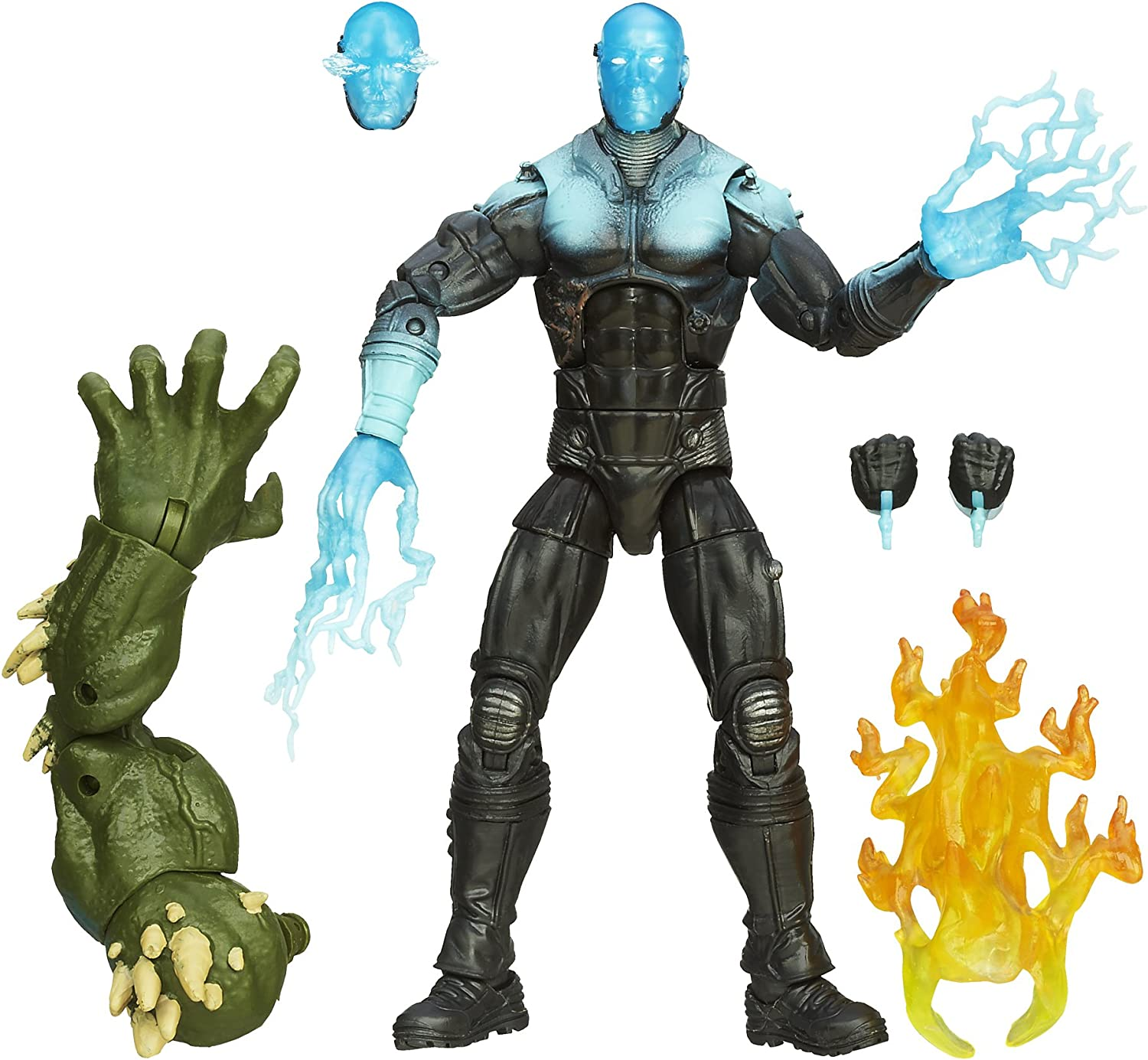 SpiderMan Marvel The Amazing 2 Marvel Legends Infinite Series Marvel's Electro Figure 6 Inches