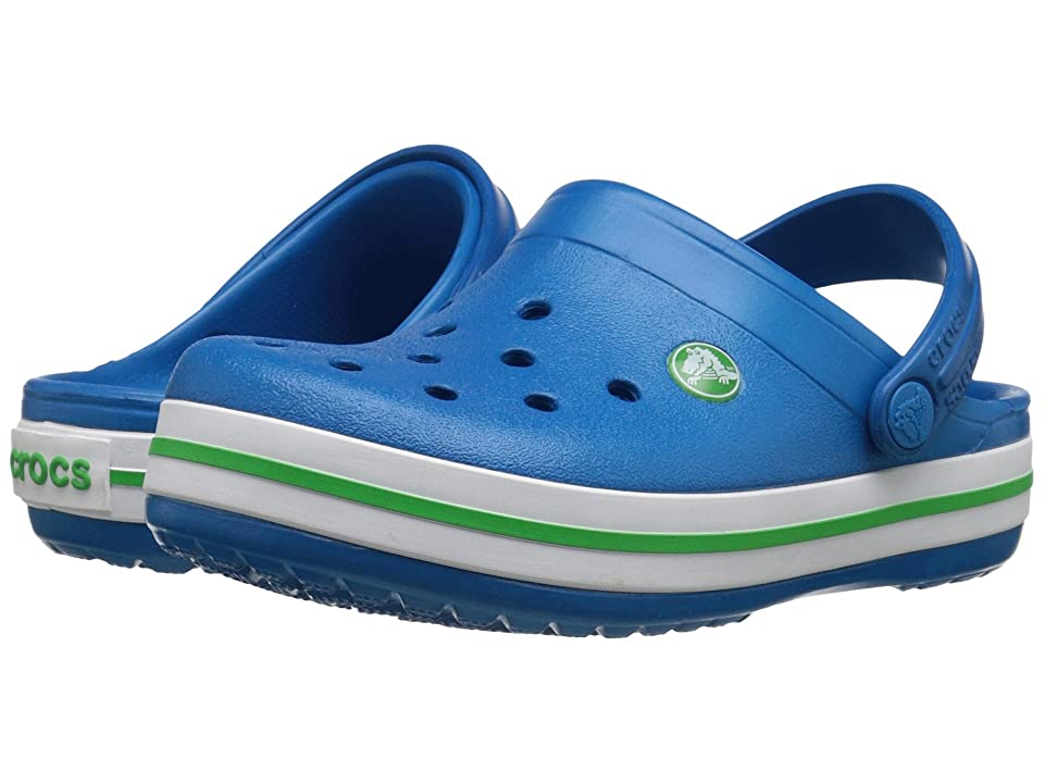 Crocs Kids Crocband Clog (Toddler/Little Kid) (Ultramarine) Kids Shoes