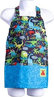 Bailey Bug Baby and Toddler STEM Science Necktie on Black with adjustable neck