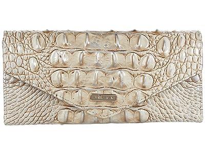 Brahmin Melbourne Veronica Wallet (Sterling) Handbags