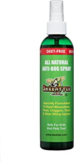 Skedattle - Natural Bug Spray | Non-Toxic, Chemical-Free Insect Repellent with Lemongrass and Essential Oils | Protection from Mosquitos, Ticks, Gnats | Safe for Kids and Pets