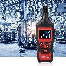 Psicrómetro digital, con función de apagado automático Termómetro digital Higrómetro, para laboratorio de cultivo de jardín