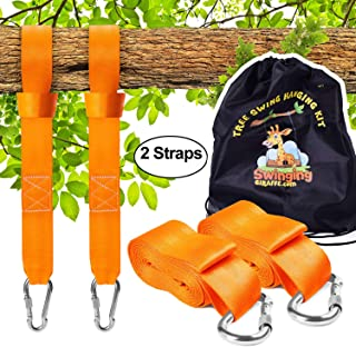 Tree Swing Hanging kit , Extra Long Straps 10TF Each. Super Strong 5,000lb