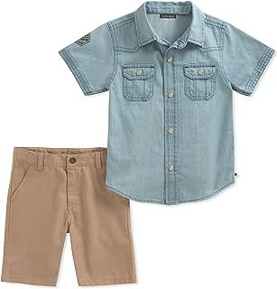 Lucky Brand Boys' Shirt Shorts Set