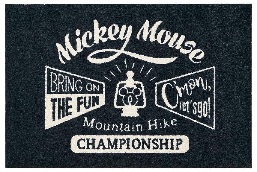 自慢止まる事Disney Mat Collection / ディズニー 玄関マット Mickey / ミッキーマウンテンハイク  60  ×  90  cm BK00023
