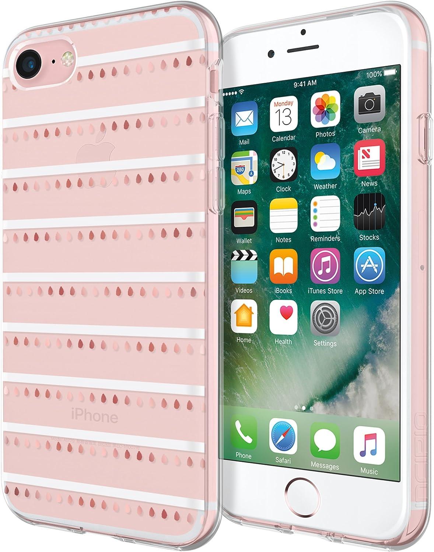 Incipio Design Series Classic Case for iPhone 7, Also fits iPhone 6 & iPhone 6s - Summer Stripe