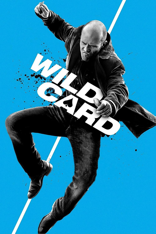 Black Creations Wild Card 1 Movie Poster Canvas Picture Art Print Premium Quality A0 A1 A2 A3 A4 (A0 Canvas (30 40) A0 Canvas (30 40))