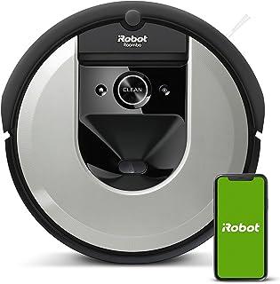 iRobot Roomba i7156 Robot Aspirapolvere, Memorizza la planimetria della tua casa, Adatto per Peli di Animali Domestici, sp...