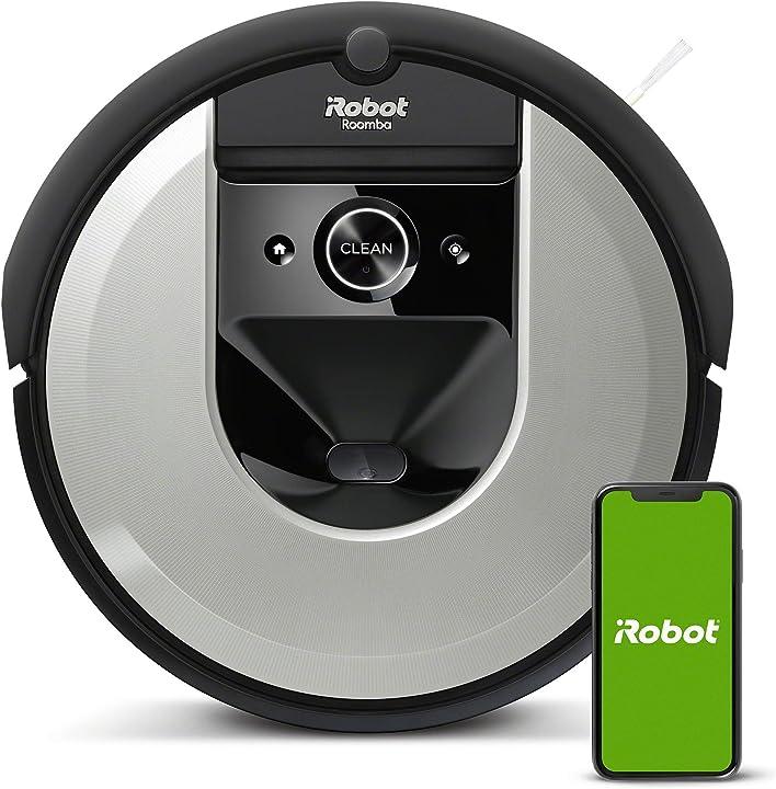 Robot aspirapolvere app memorizza la planimetria della tua casa adatto per peli di animali domestici irobot I715640