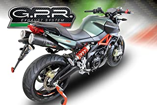 GPR EXHAUST SYSTEMS A.69.RACE.M3.BT APRILIA SHIVER 900 2017/18 DUAL RACING SLIP-ON EXHAUST SYSTEM M3 BLACK TITANIUM MOTO 3 WORLD CHAMPION REPLICA