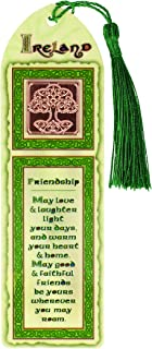 Celtic Collection Laminated Tree of Life Bookmark with Tassel Design