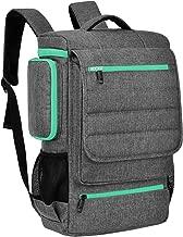 Laptop Backpack 18.4 Inch BRINCH Water Resistant Large Travel Backpack for Men Luggage Knapsack Computer Rucksack Hiking Bag College Backpack Fits 18-18.4 Inch Laptop Notebook Computer,Grey-Green