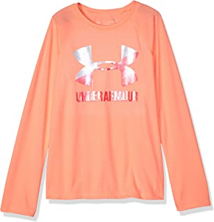 Under Armour Girls Under Armour Girls' Big Logo Long Sleeve Long Sleeve