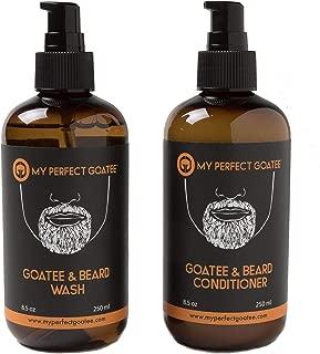 My Perfect Goatee - Premium Goatee Beard Wash   Goatee Beard Conditioner Hydrating Facial Hair Cleanser (Combo Pack   Beard Wash & Beard Conditioner 8.5 oz each)