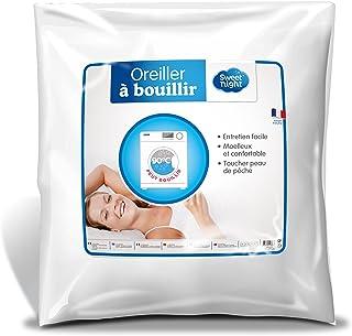 Sweetnight - Oreiller à Bouillir | 60x60 cm | Lavable à 90° | Moelleux et Doux | 100% Microfibre