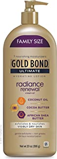 Gold Bond Radiance Renewal Hydrating Lotion 20 oz. for Visibly Dry Skin, Family Size