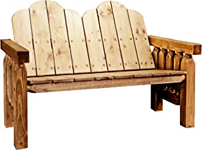 Montana Woodworks Homestead Collection Deck Bench, Exterior Stain Finish
