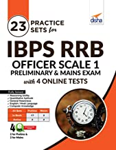 23 Practice Sets for IBPS RRB Officer Scale 1 Preliminary & Mains Exam with 4 Online Tests 4th Edition