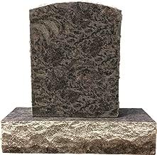 Bahama Blue Granite Upright Monument Gravemarker Headstone Gravestone MN-253