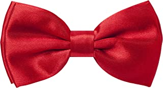 Navisima Classic Pre-Tied Bow Tie - Adjustable Formal Solid Colors Bowtie For Boys, Girls, Baby Toddler