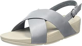 Womens Lulu Cross-Back Strap Sandal