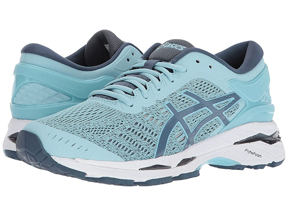 ASICS GEL-Kayano(r) 24 (Porcelain Blue/Smoke Blue/White) Women