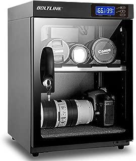 BOLTLINK 防湿庫カメラ カメラ保管庫 ドライキャビネット オートドライ 内蔵LEDライト 30L
