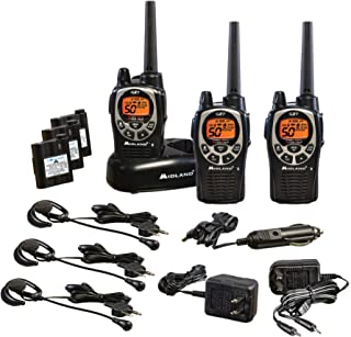 Midland – GXT1000VP4, 50 Channel GMRS Two-Way Radio – Up to 36 Mile Range..