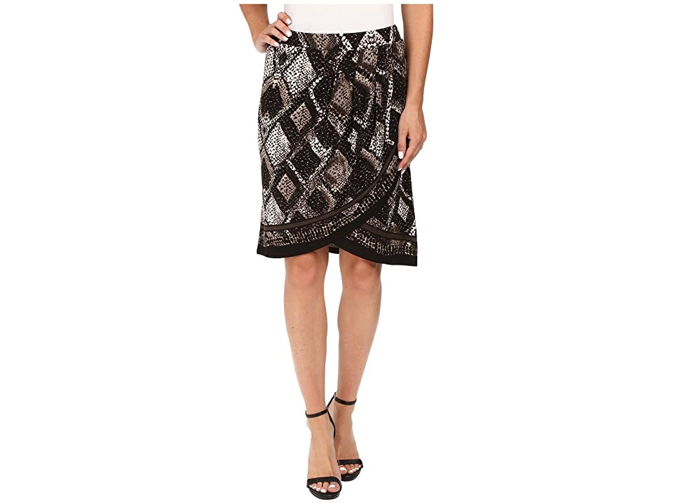 NIC+ZOE Scaled Wrap Skirt (Multi) Women