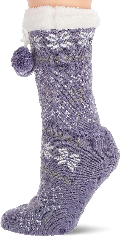 Columbia Moccasin Slipper Socks 1-Pack