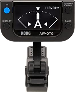 KORG AW-OTG Guitar Clip On Tuner with OLED Display