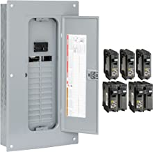 Square D by Schneider Electric HOM2448M100PCVP Homeline 100 Amp 24-Space 48-Circuit..