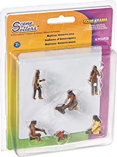 Woodland Scenics SP4343 Diorama Native American Scene Setter