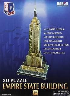 Daron Empire State Building 3D Puzzle, 55-Pieces