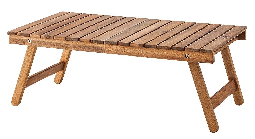 想像する移住するモートAZUMAYA フォールティングテーブル 折りたたみ可能 73cm幅 NX-514