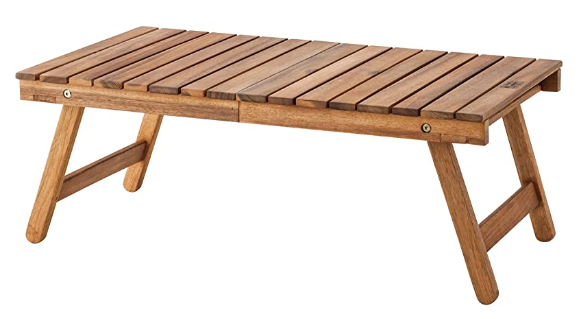 収穫慣らすメッセンジャーAZUMAYA フォールティングテーブル 折りたたみ可能 73cm幅 NX-514