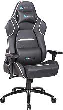 Newskill Valkyr - Silla gaming profesional con asiento microperforado para mejor sensación térmica (sistema de balanceo y reclinable 180 grados, reposabrazos 4D) - Color Blanco