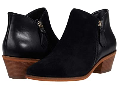 Cole Haan Gracy Bootie (45 mm) (Black Eco Flora Suede) Women