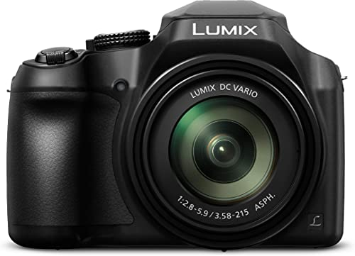 Panasonic LUMIX DC-FZ80GN-K 4K Bridge Hi-Zoom Point and Shoot Travel Camera, Black