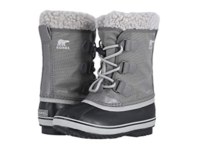 SOREL Kids Yoot Pactm Nylon (Little Kid/Big Kid) (Quarry/Dove) Kids Shoes
