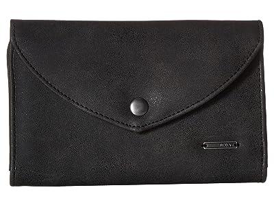 Roxy Stop Here Wallet (Anthracite) Wallet Handbags