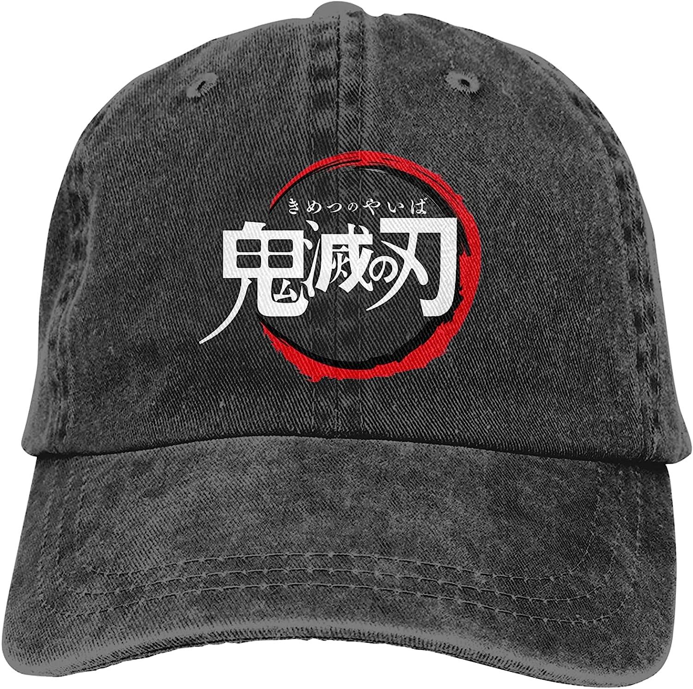xyndbik All stores are sold Baseball Cap Unisex Anime Profile Denim Max 40% OFF Dad Hat Low