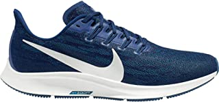 Air Zoom Pegasus 36 Men's Running Shoe Blue Void/Metallic Silver-Coastal Blue Size 10.5