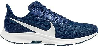 Air Zoom Pegasus 36 Men's Running Shoe Blue Void/Metallic Silver-Coastal Blue Size 12