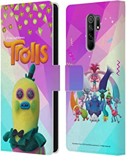 Head Case Designs Licenciado Oficialmente Trolls Sr. Dinkles Pack Snack Carcasa de Cuero Tipo Libro Compatible con Xiaomi ...