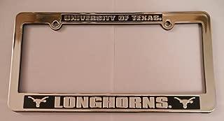 Jenkins Enterprises NCAA Team Logo Silver & Black Auto License Frame