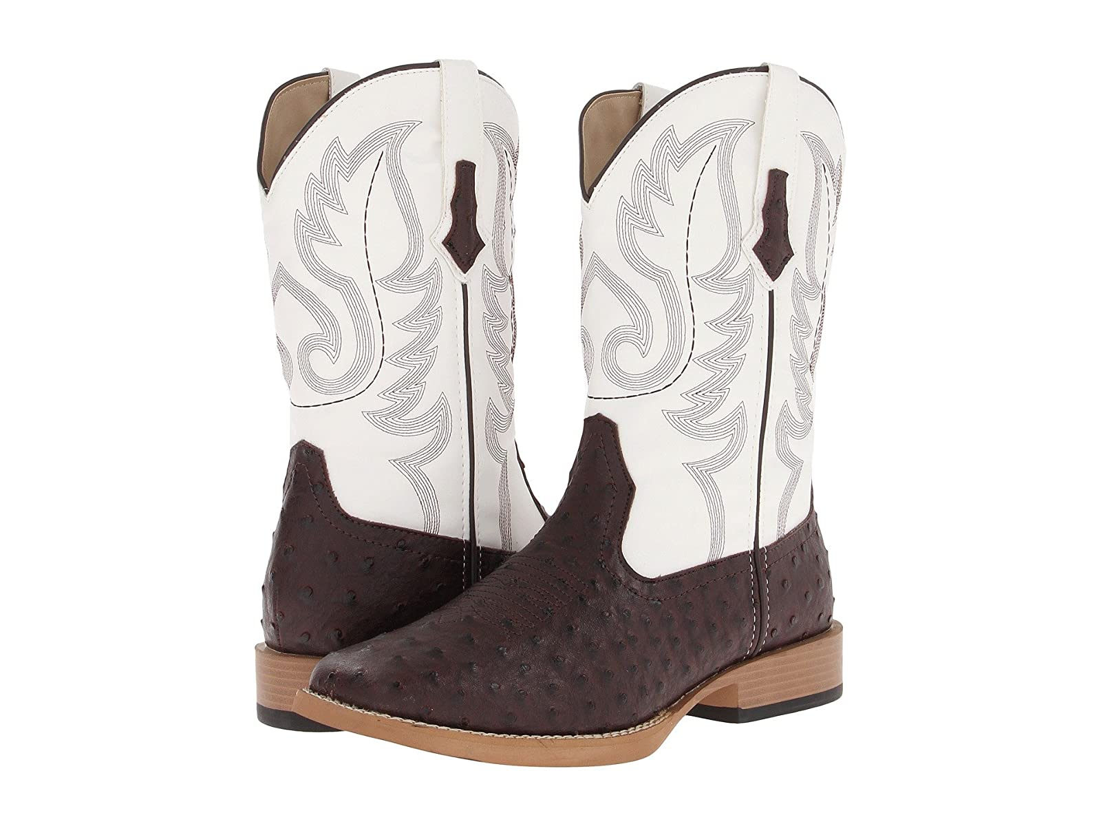 Roper Ostrich Print Square Toe Cowboy BootEconomical and quality shoes