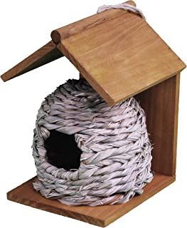 Dehner 4383337 Natura Brynja - Bolsa para pájaros Silvestres, diámetro de 17 cm, Altura de 23 cm, Agujero de 50 mm, caña d...